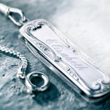 Lommekniver i sølv